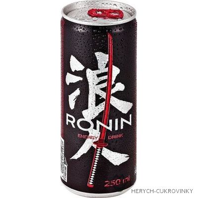 Ronin energy drink 250ml  - 24 Ks balení