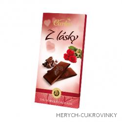 Carla Z lásky čokoláda hoř. 80g