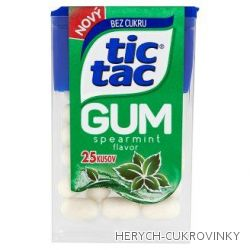 Tic tac GUM spearmint / 12Ks