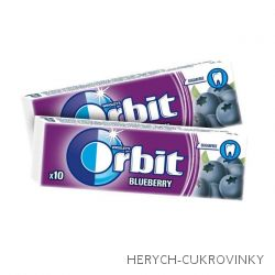 Orbit borůvka dražé / 30Ks
