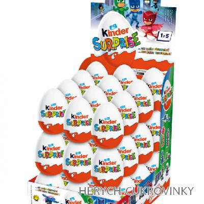 Kinder vajíčko PJ Masks 20g / 36Ks