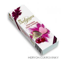 Belgian srdíčka cherry 65g