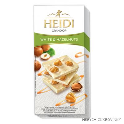 Heidi Grand´Or oříšk. čokoláda white 100g