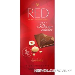 RED ml. čok. ořech 100g