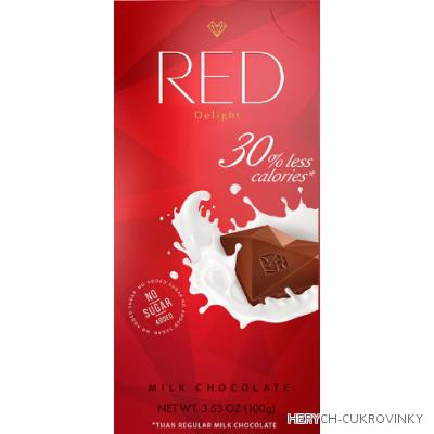 RED ml. čok. 100g