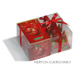 Liran Christmas mix pyramidkový čaj 24g