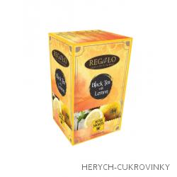 Regalo černý citrónový čaj porcovaný 40g