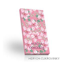 Mléčná čokoláda 50g - Orchidej