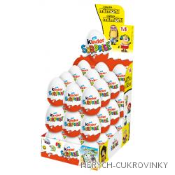 Kinder vajíčko Mimoni 20g / 72Ks