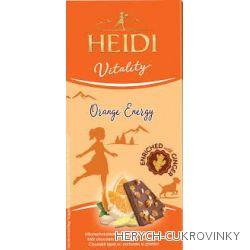 Heidi Vitality čok. pomeranč a zázvor 80g