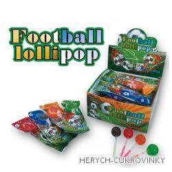 Lízátko svítící fotbal 10g / 30 Ks