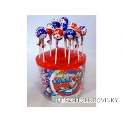Lízátko kulička Cola 5g / 100 Ks