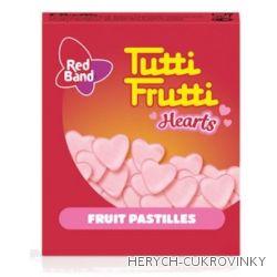 Tutti Frutti Hearts 15g / 48ks