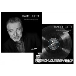 LP Gott 80g - černobílá hlava