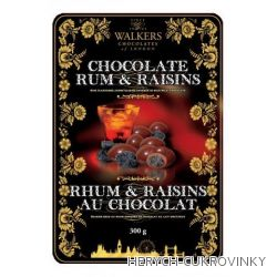 Walkers Rum and Raisins plech 250g