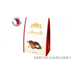 Carla mandle v hořké čokoládě 80g