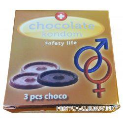 Kondom čokoládový 20g