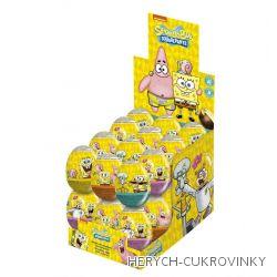 Vajíčko Spongebob čok. / 24 Ks