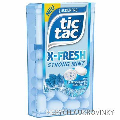 Tic tac Fresh Strong Mint 11,9g / 24Ks