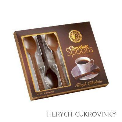 Bolci čokoládové lžičky 54g