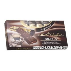 Grazioso MT čokoláda Espresso 100g