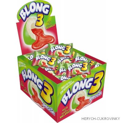 Žvýkačky Blong Meloun / 40 Ks